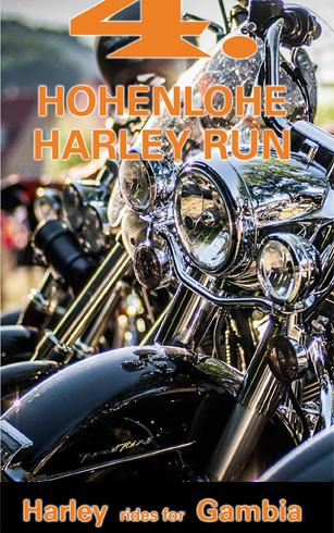 Silvergroover auf dem Hohenlohe Harley-run in Künzelsau