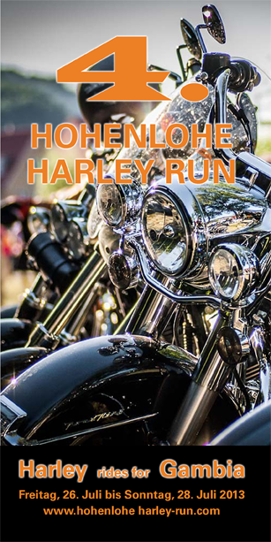 Silvergroover live am 4. Hohenlohe Harley Run