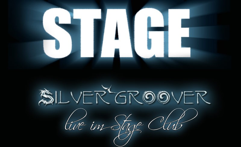 Silvergroover im STAGE Club SHA am 4.4.14