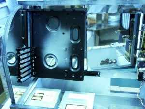 PC-Casemod: Boardhalterung eingebaut