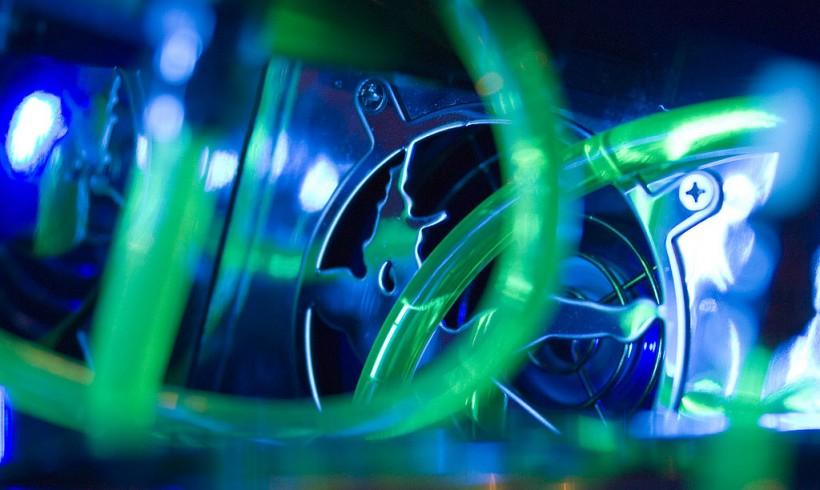 PC-Casemod: Detail » Netzteil von oben