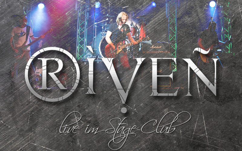 RIVEN live im Stage Club SHA am 19. September 2014