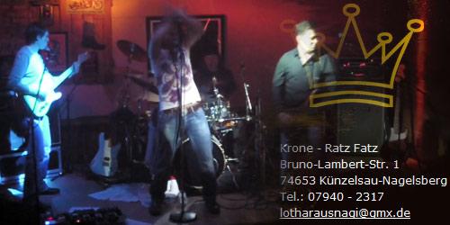Silvergroover Live in der Krone Nagelsberg am 09.03.2013