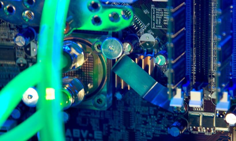 PC-Casemod: Detail » Spannungswandler