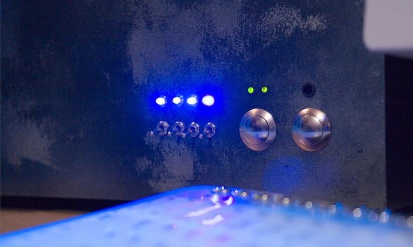 PC-Casemod: Detail » Taster schalter