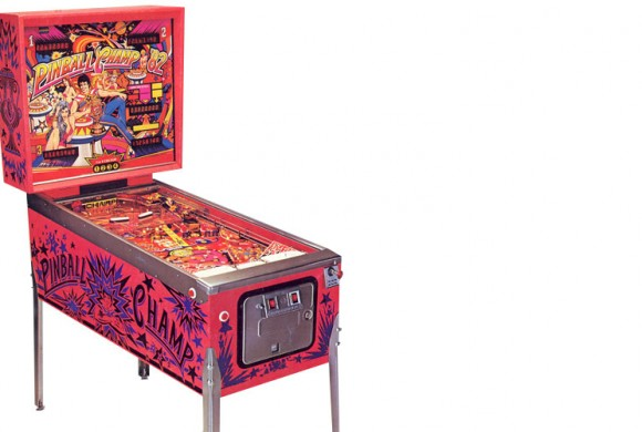 Flipper PinBall Champ82 (Gehäuse/Housing)