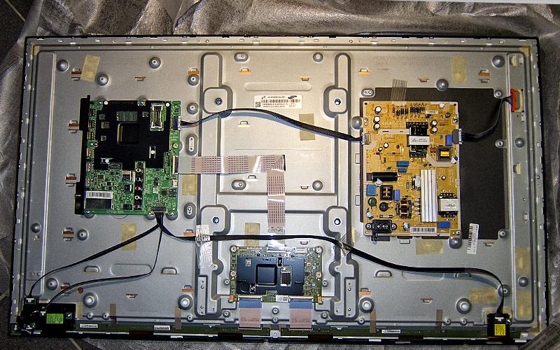 Samsung (Playfield) de-montieren / de-caseing