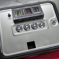 Kassentüre nach dem lackieren und zusammenbauen / Coin door ready
