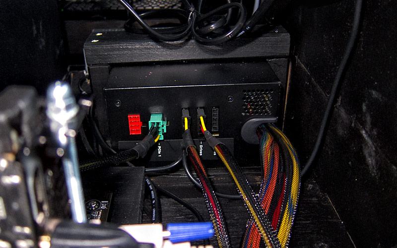 Netzteil im Flipper / Power supply in pinball