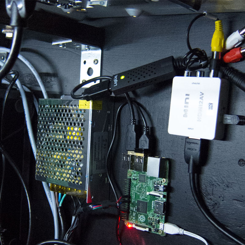 Ambilight Raspberry-PI via HDMI Splitt