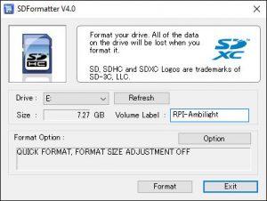 SD-Formatter