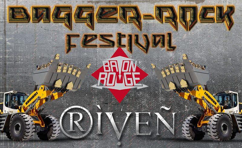 RIVEN Live auf dem Baggerrock Festival 2017