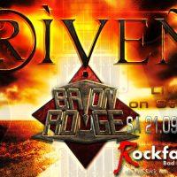 RIVEN & Baton Rouge live am 21.09.2019 in der Rockfabrik Bad Friedrichshall