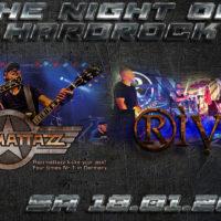 RIVEN zusammen mit Razzmattazz live am 18.01.2020 in der Rockfabrik Bad Friedrichshall