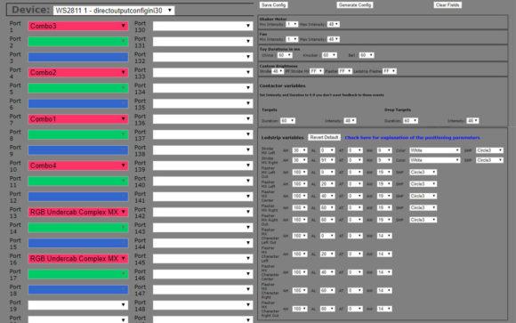 VPIN: DOF Config Tool - directoutputconfigini30