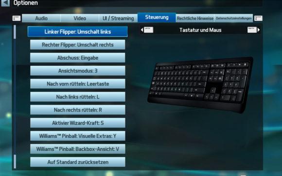 Pinball FX3 - Keys